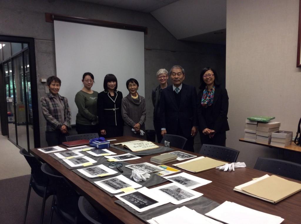 Prof. Nobuyoshi at Asian Library
