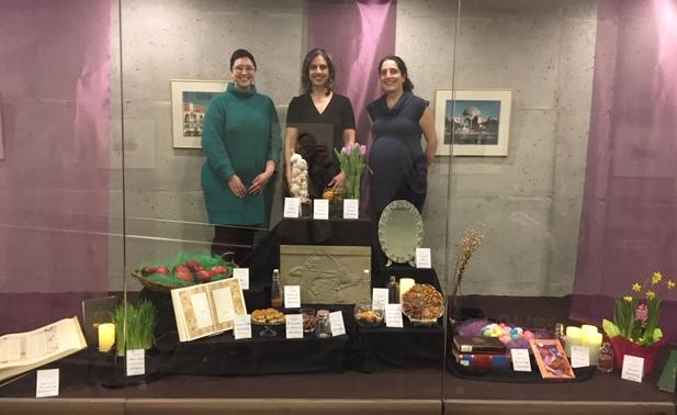 Nowruz display